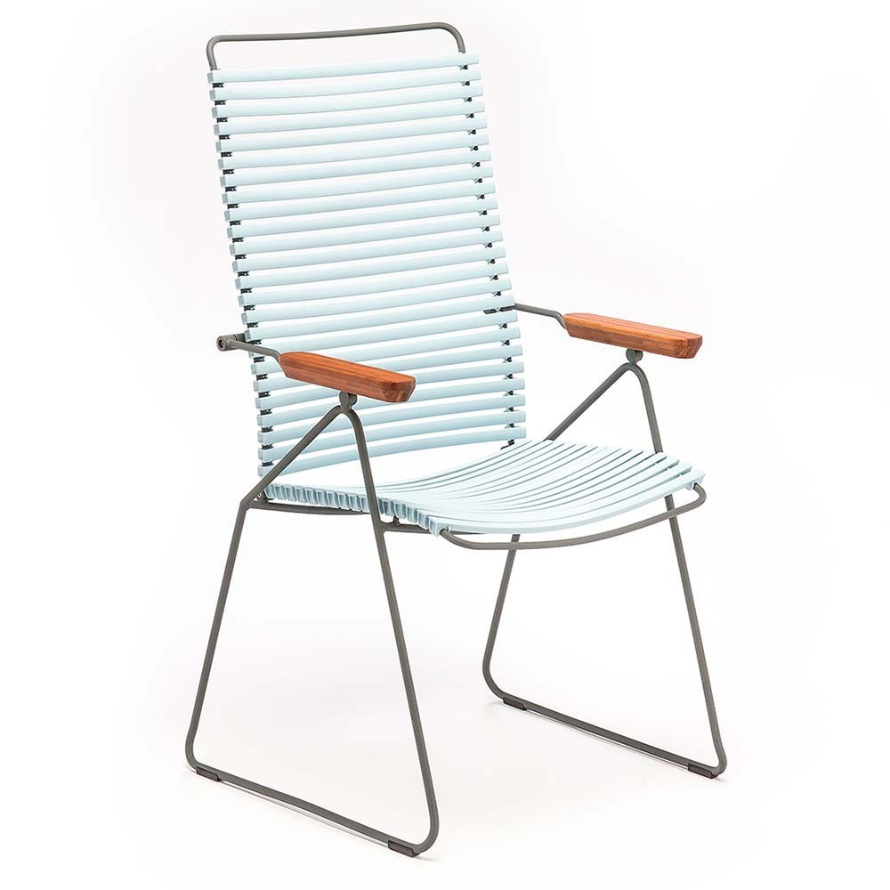 Click position chair dusty blue Houe