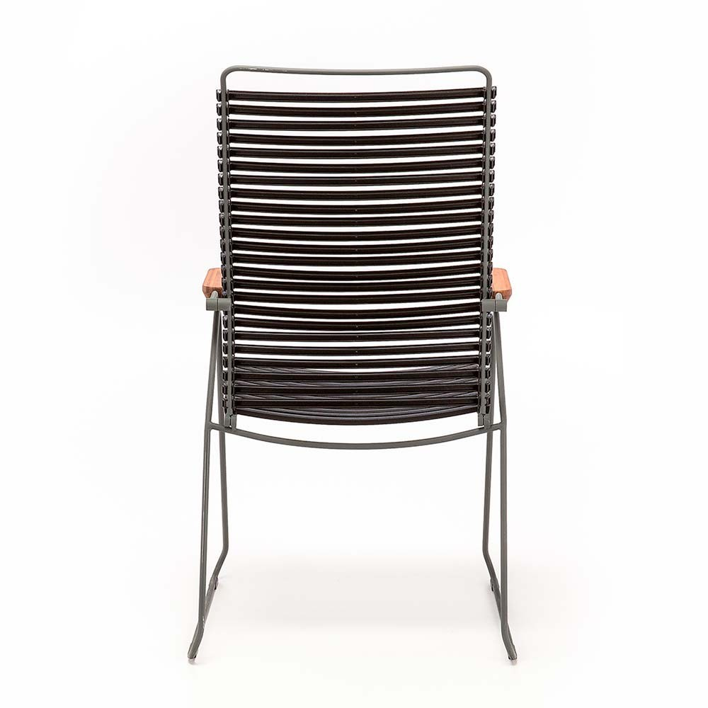 Click position chair pigeon blue Houe