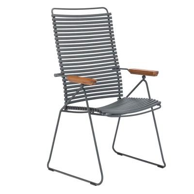 Chaise position Click gris foncé Houe