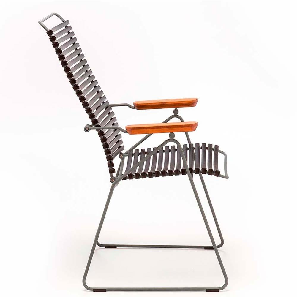 Click position chair dark grey Houe