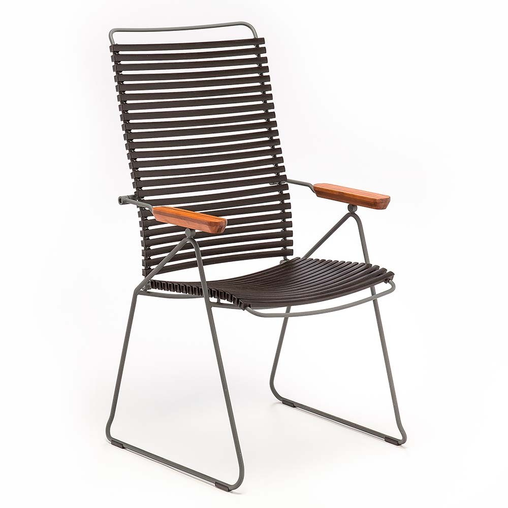 Chaise position Click noir Houe