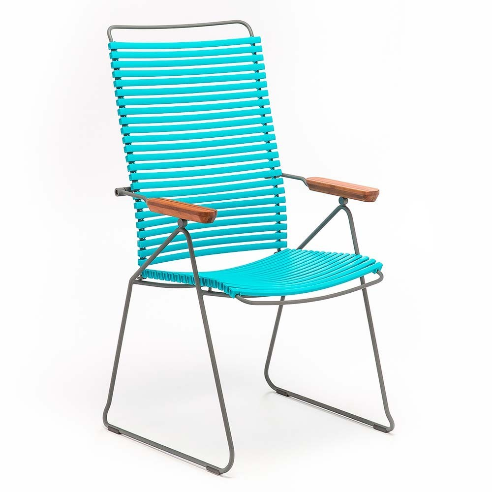 Click position chair turquoise Houe