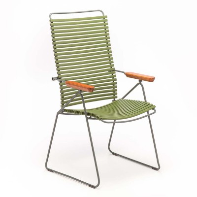 Click position chair olive green Houe