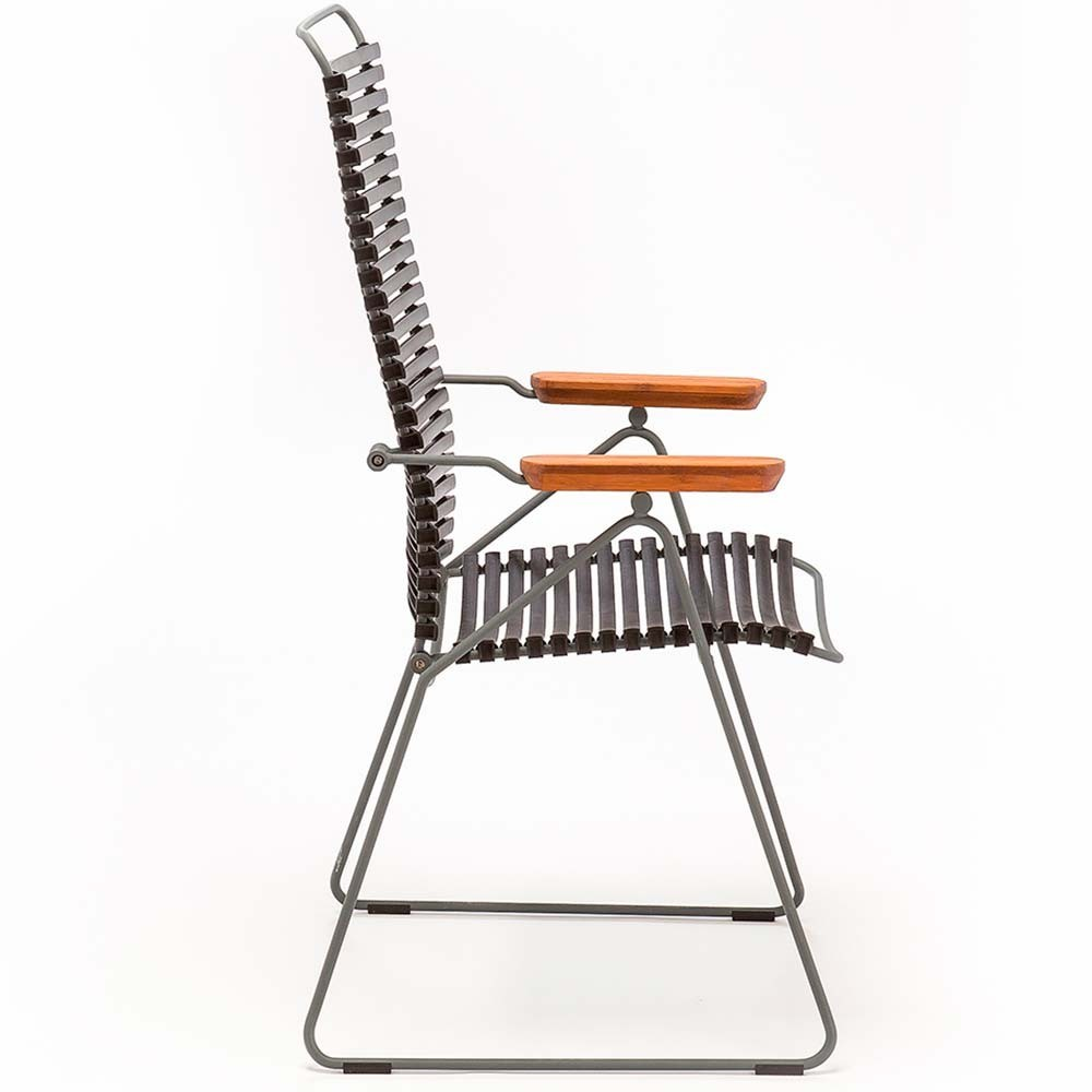 Click position chair dusty green Houe