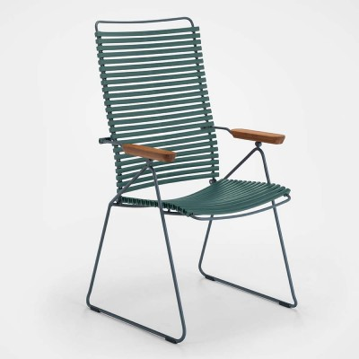 Click position chair pine green Houe