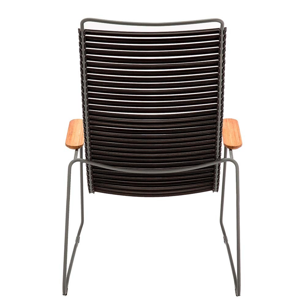 Click lounge chair navy blue Houe