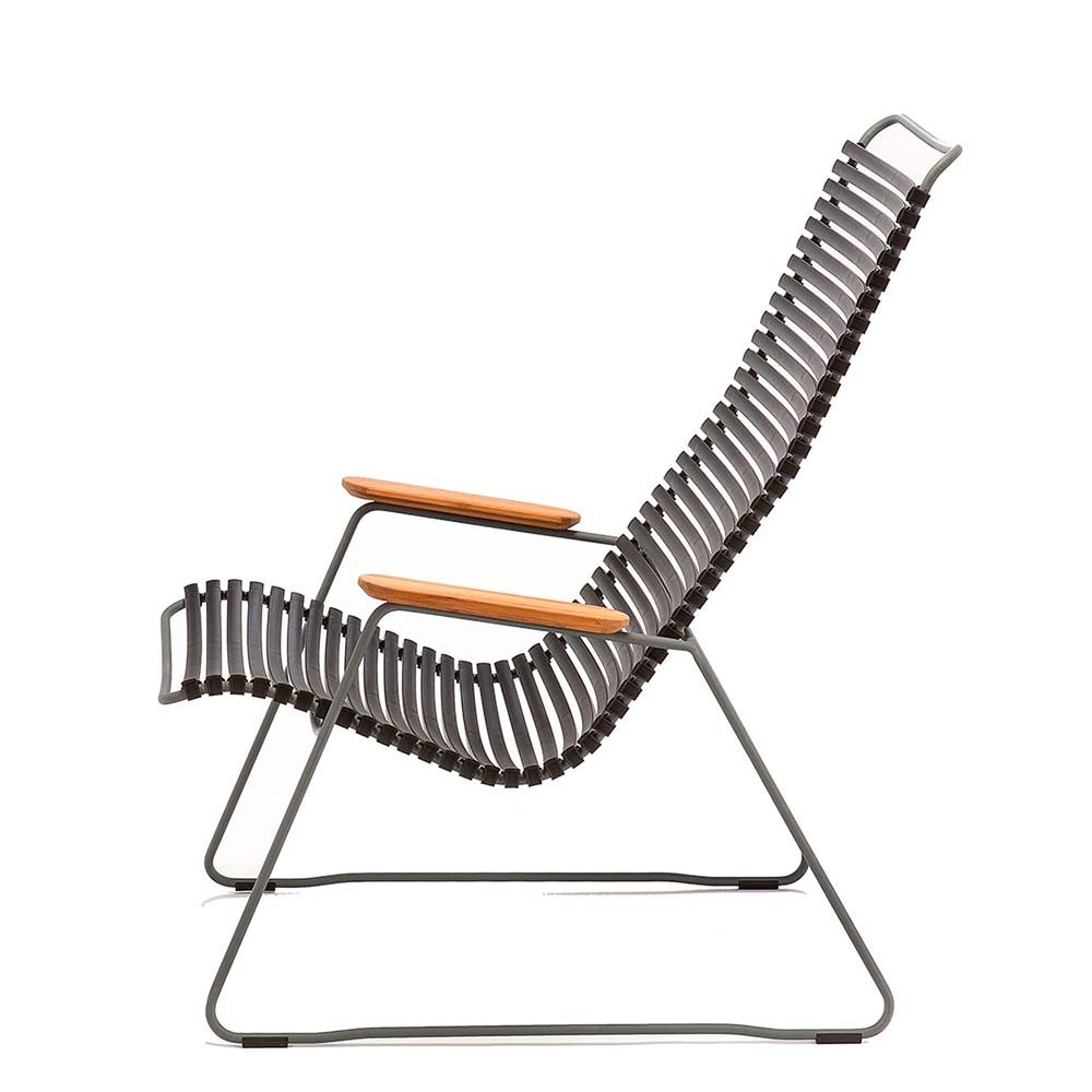 Click lounge chair petrol Houe