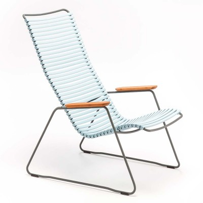 Click lounge chair dusty blue Houe