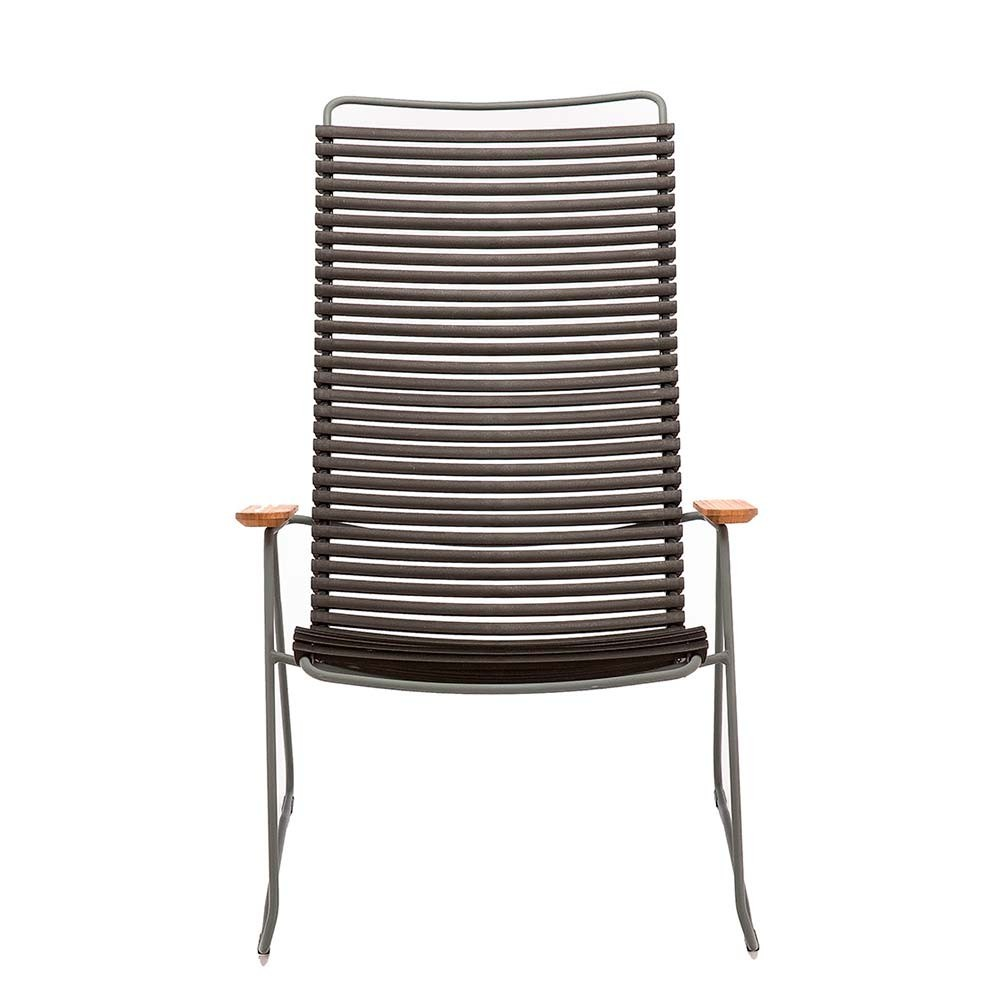 Click lounge chair paprika Houe