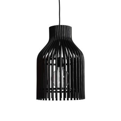 Zwarte hanglamp Firefly