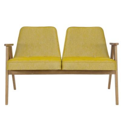 366 2-seater sofa Loft mustard 366 Concept
