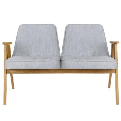 366 2-seater sofa Loft silver 366 Concept