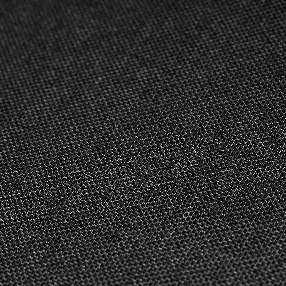 Acura Solid black chair fabric Houe