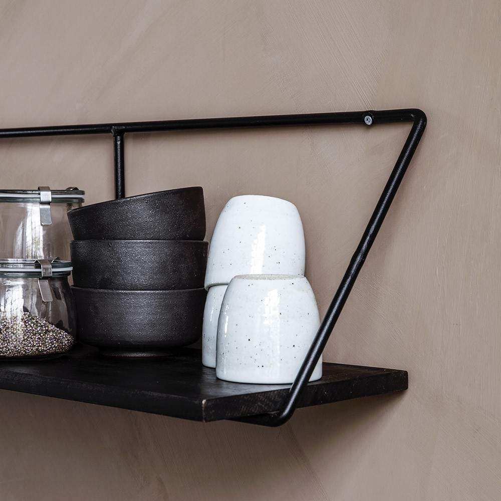 Shelf Wired black L House Doctor