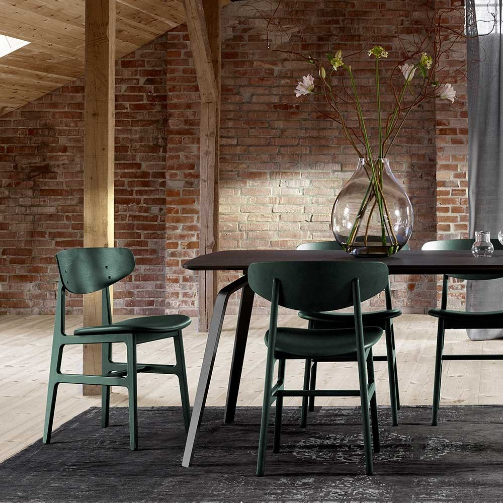 Siko chair forest green Houe