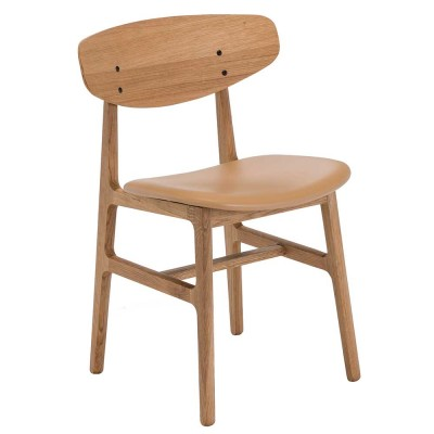 Siko chair oak & sand Houe