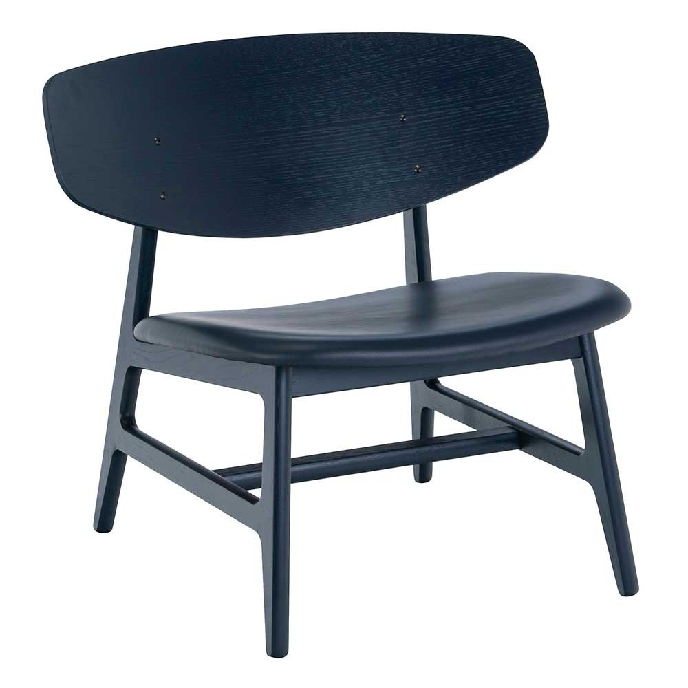 Siko lounge chair royal blue Houe