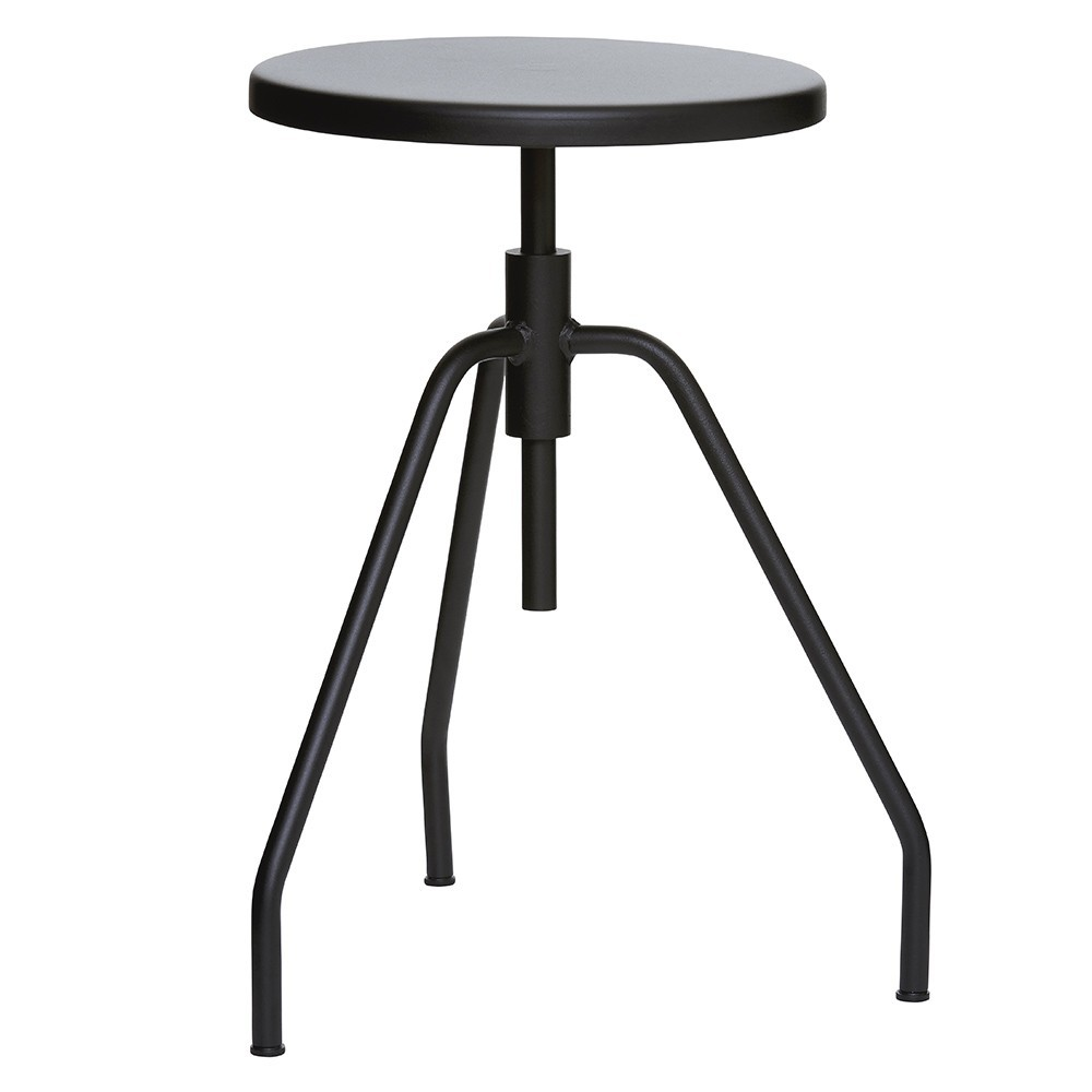 Stool Scarpa black House Doctor