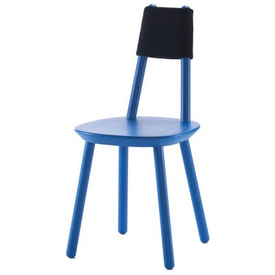 Naïeve stoel blauw Emko