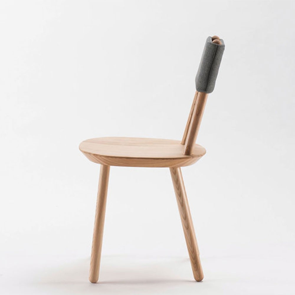 Naïeve stoel grijs Emko