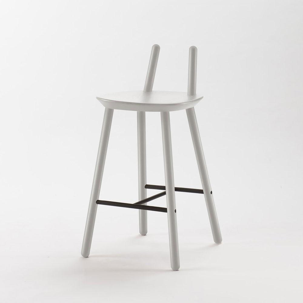 Naïve Semi bar chair grey Emko
