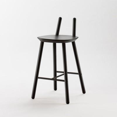 Chaise de bar Naïve Semi noir Emko