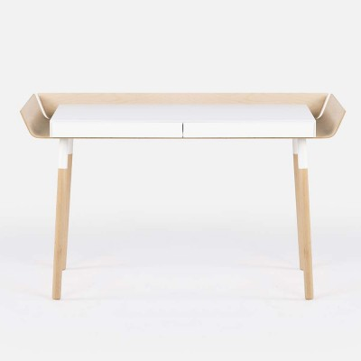 My Writing Desk white L Emko