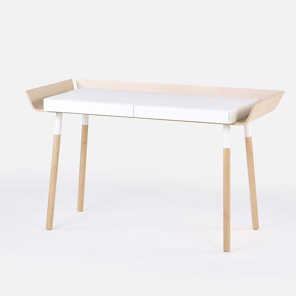 Mijn schrijftafel wit L Emko