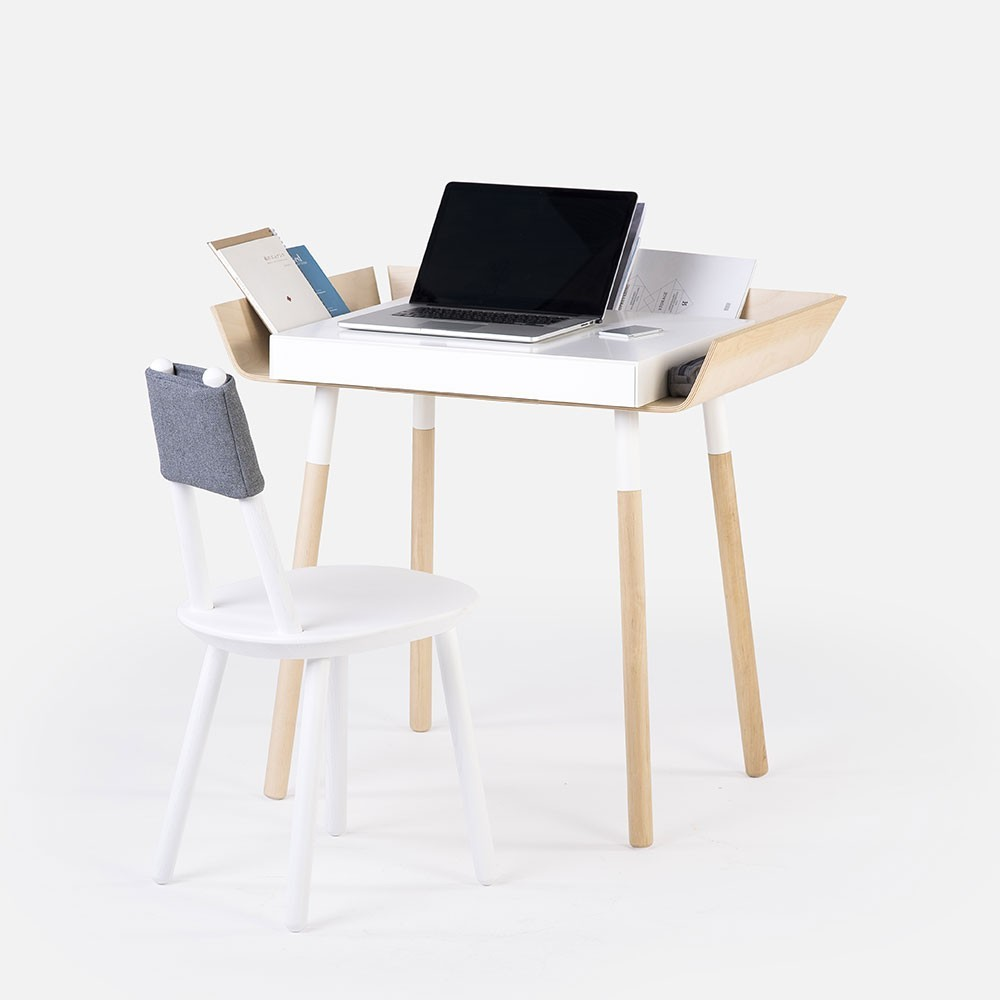 My Writing Desk white S Emko