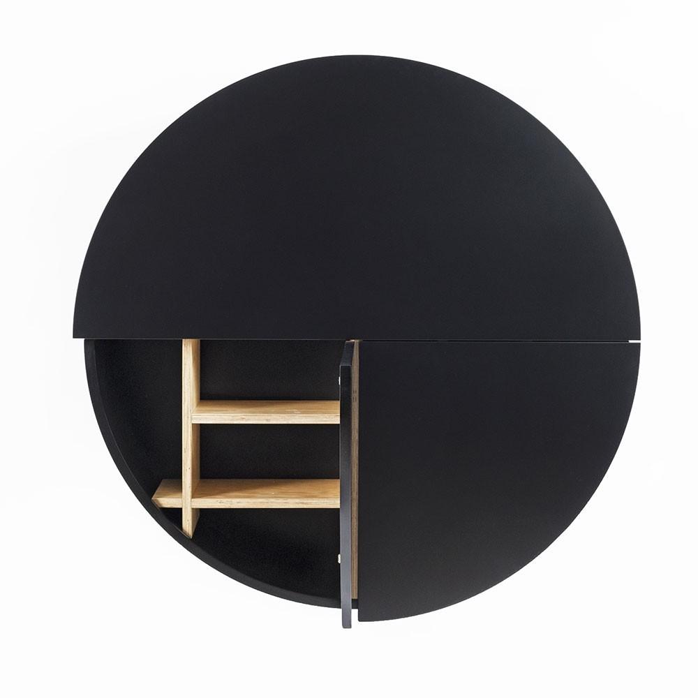Pill wall desk black Emko