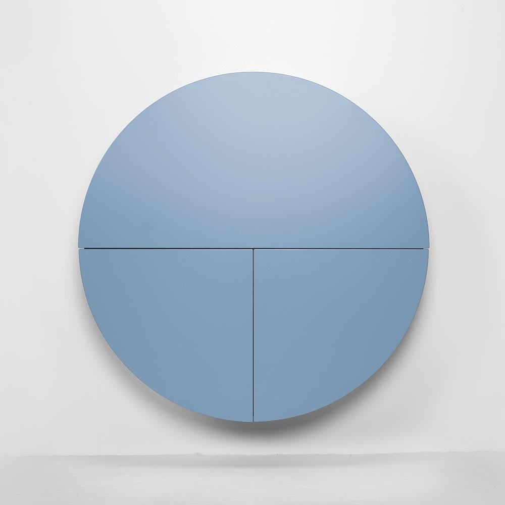 Bureau mural Pill bleu & noir Emko