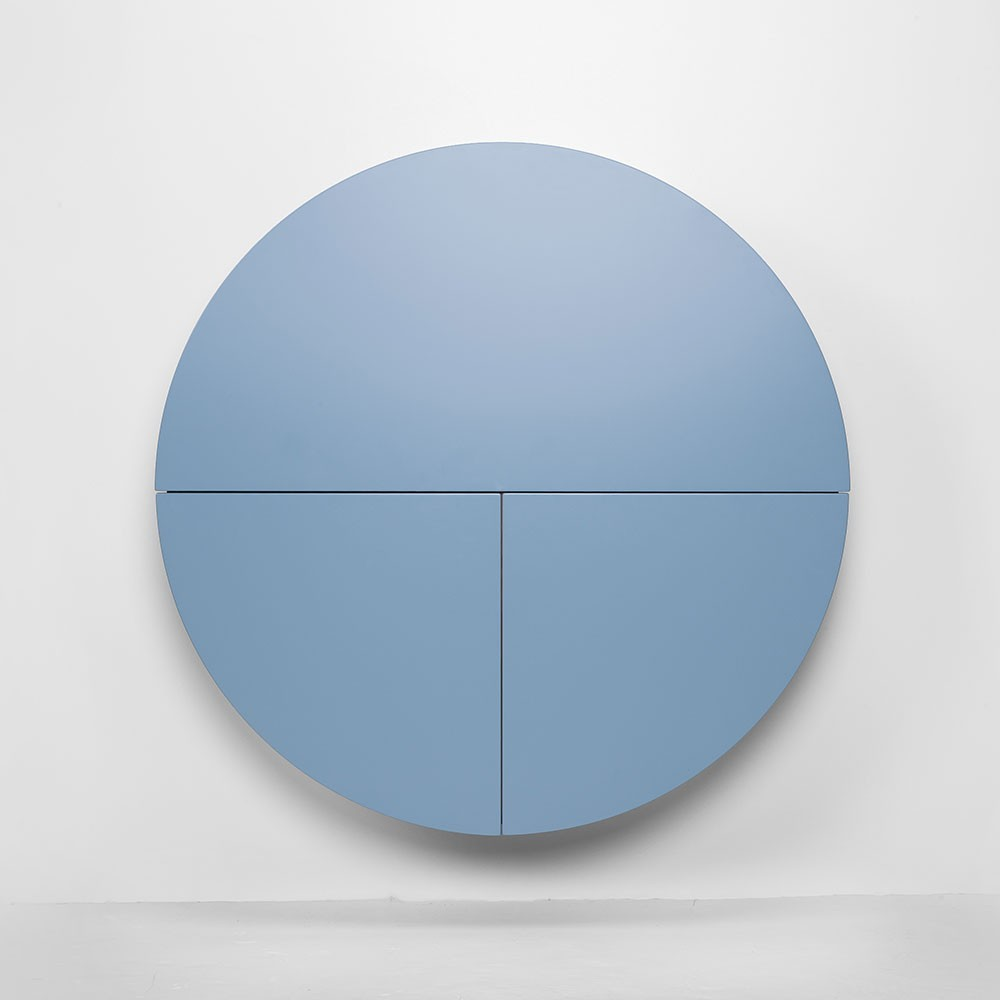 Pill wall desk blue & black Emko