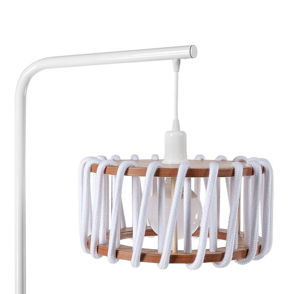 Macaron floor lamp white S Emko