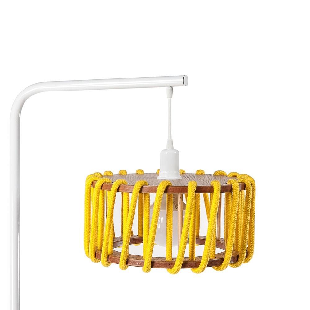 Macaron vloerlamp wit & geel S. Emko