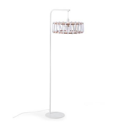 Macaron floor lamp white L Emko