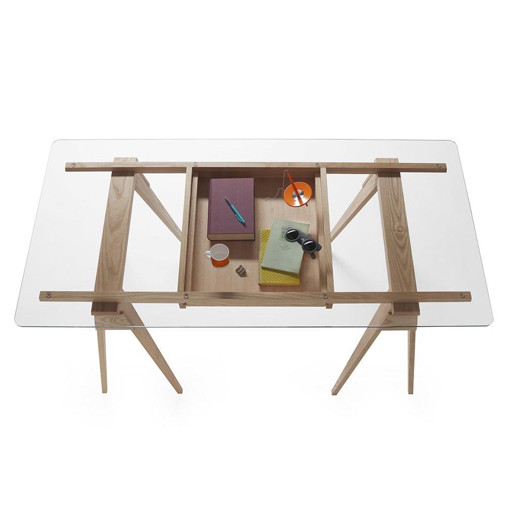Arco desk oak Design House Stockholm