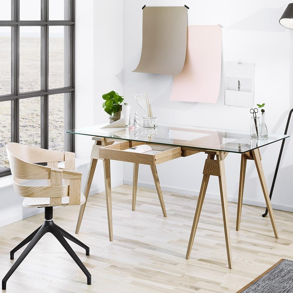 Arco desk black Design House Stockholm