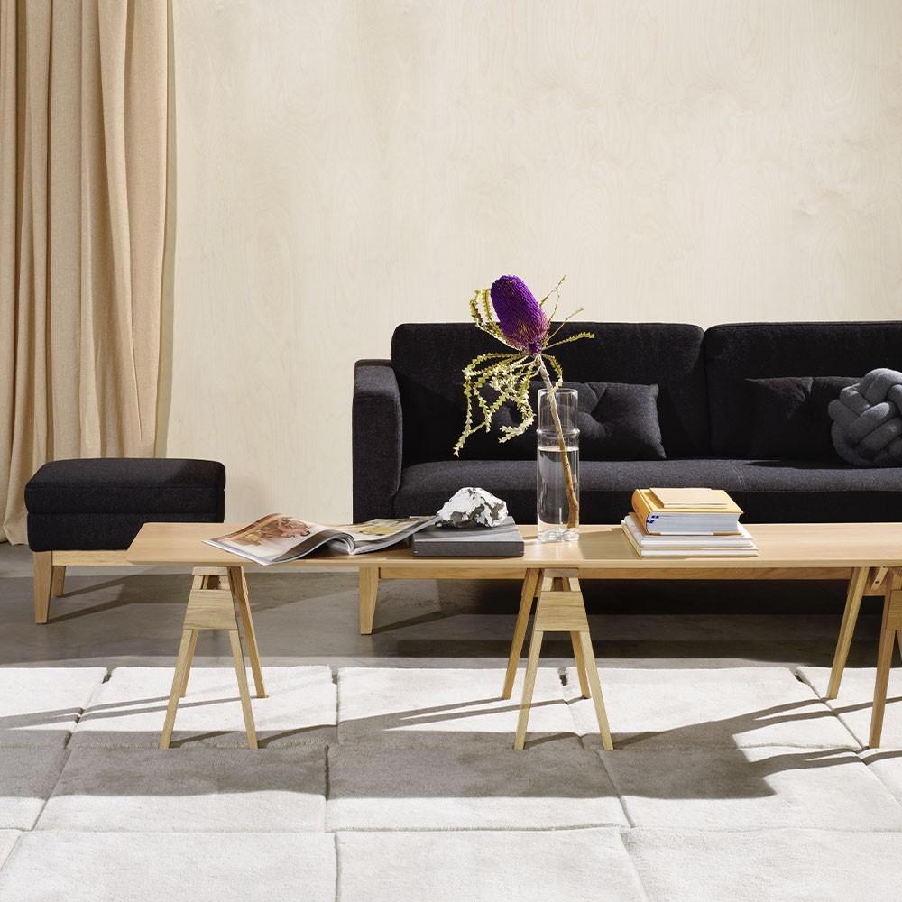 Arco coffee table oak Design House Stockholm