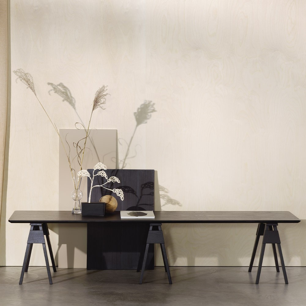 Arco coffee table black Design House Stockholm