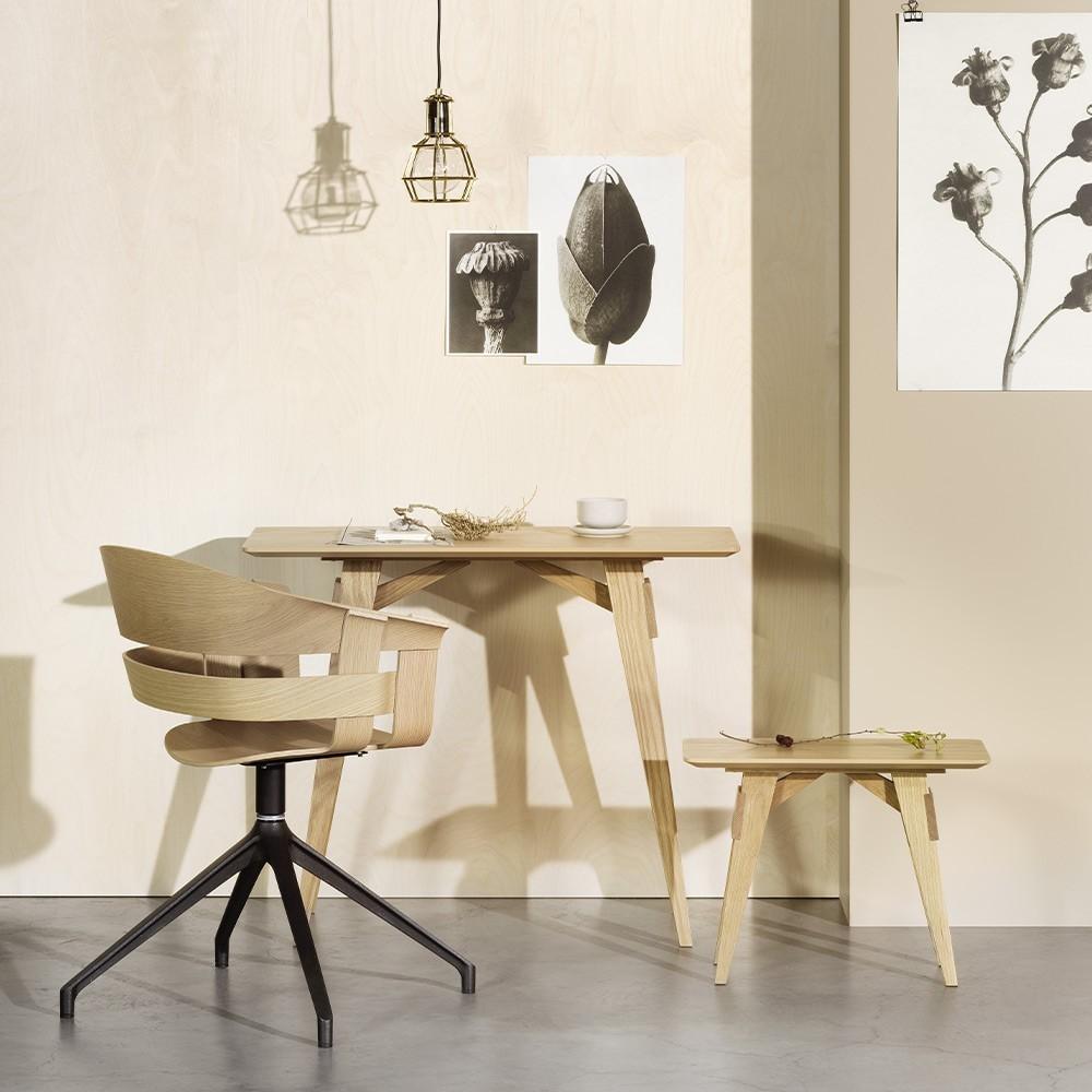 Kleine tafel Arco zwart Design House Stockholm