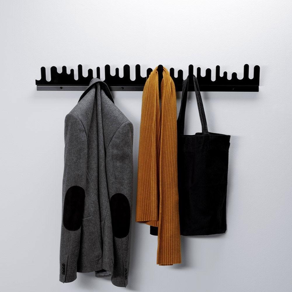Wave hanger black Design House Stockholm