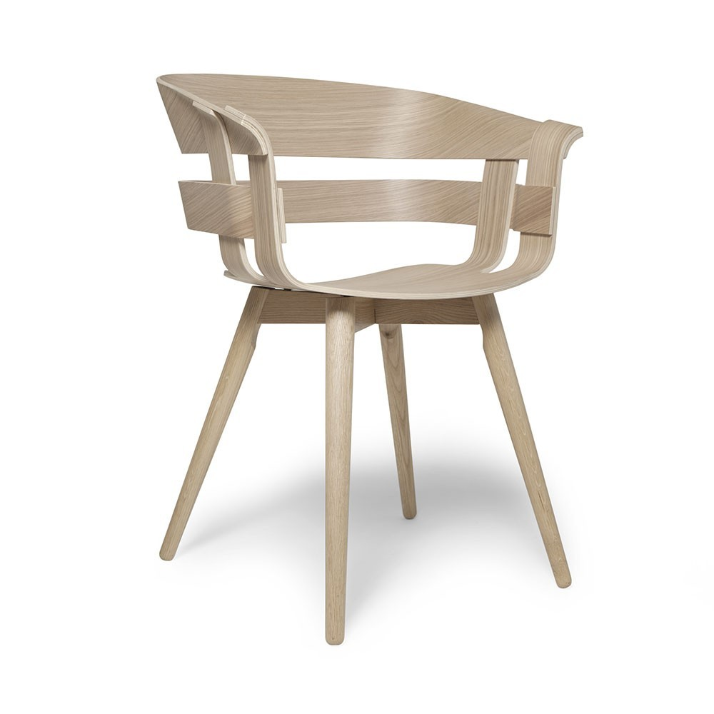 Wick chair oak Design House Stockholm