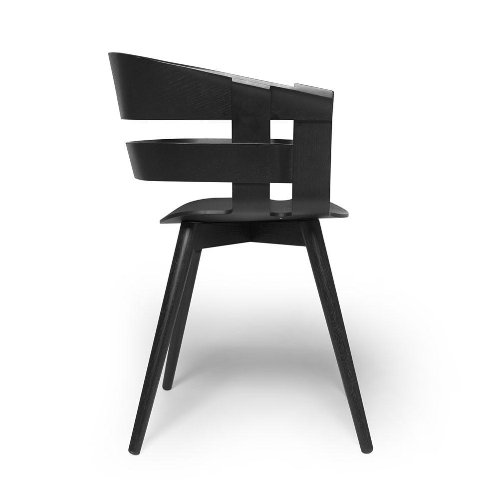 Chaise Wick noir Design House Stockholm