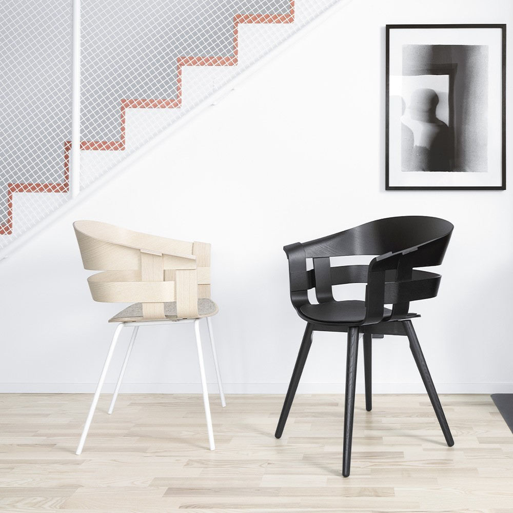 Wick chair black Design House Stockholm