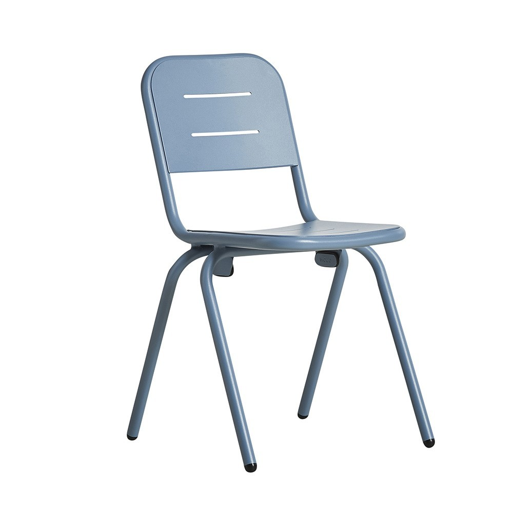 Ray café chair blue (set of 2) Woud