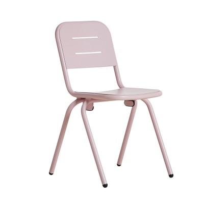 Ray café chair rose pink (set of 2) Woud