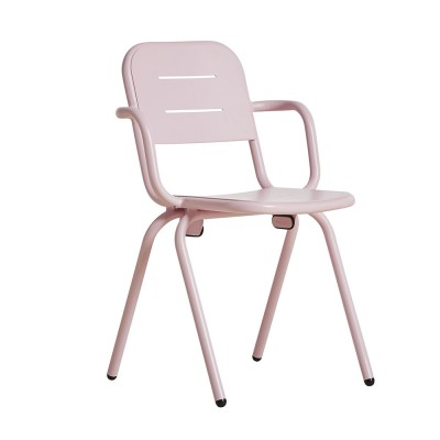 Ray café armchair rose pink (set of 2) Woud