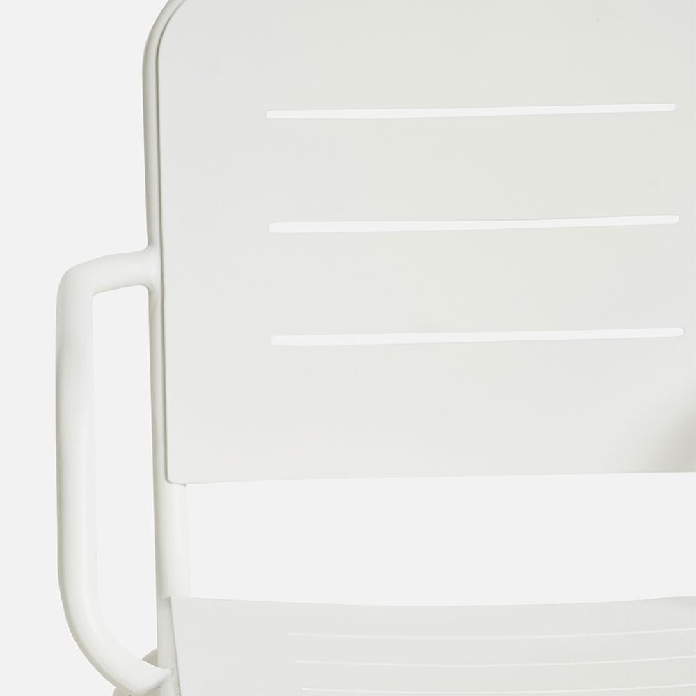 Ray fauteuil wit (set van 2) Woud