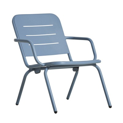 Ray lounge chair blue (set of 2) Woud