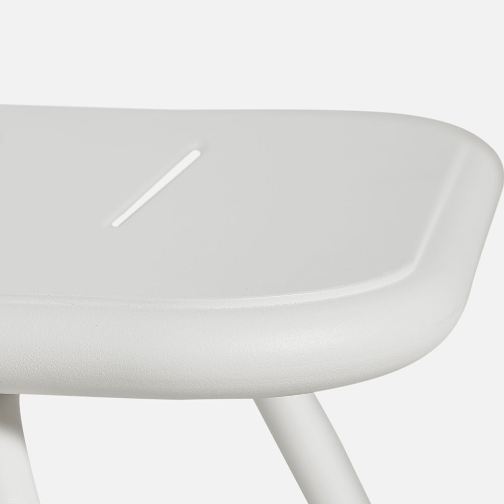 Ray lounge table white Woud